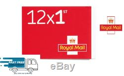 1000 New First 1st class Stamps Royal Mail Ist First Class Self Adhesive Stamps