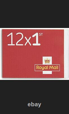 1000 X First Class Stamps On Books Self Adhesive, NEW Unused 1st class post