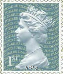 1000 x 1st Class Royal Mail Stamps Unfranked, No Gum, Off Paper Face Value £670