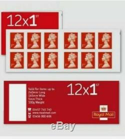 12 x 50(600)BRAND NEW ROYAL MAIL 1ST CLASS STAMPS SELF ADHESIVE CHEAPEST GENUINE
