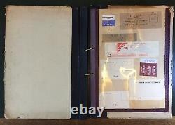 1930s Post Office Form/Label Working Reference Book 130+ Labels