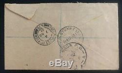 1951 Kure Japan British Field Post Korean War Cover To Auckland New Zealand