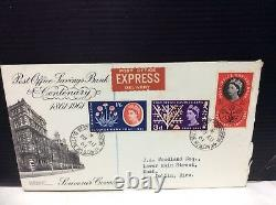 1961 First Day Cover Post Office Savings Bank Centenary Blythe Road CDS postmark