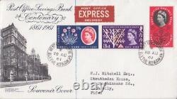 1961 GB Post Office Savings Bank Illustrated Blythe Rd Cds Fdc