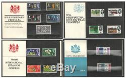 1964 Royal Mail Commemorative Presentation Packs. Each sold separately