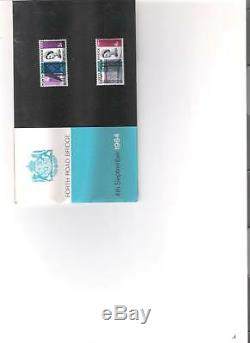 1964 Royal Mail Presentation Pack Forth Road Bridge Pre Decimal Mint Stamps
