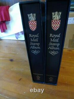 1970-99 Full Collection Housed In 2 Royal Mail Albums No Empty Spaces G-f-used