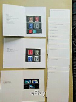 1970 CCPS Session Berne Post Office Delegate wallet Machins & Commem 1968-70