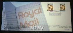 1986 ROYAL WEDDING Hemel Hempstead Head Post Office OFFICIAL FDC # VERY RARE #