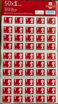 2000 x 1st class Royal mail large letter stamps First class UK postage brand new