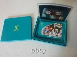 2002 Manchester XVII Commonwealth Games Royal Mail Four £2 Proof Coin Set