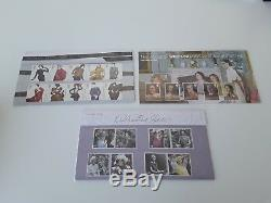 2012 Year Set of 15 Royal Mail Stamp Presentation Packs in display box, good con