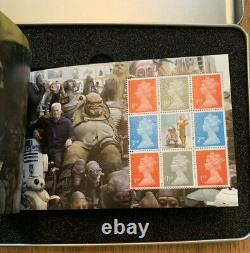 2017 Royal Mail STAR WARS Prestige Stamp Book Limited Edition Rare Investment