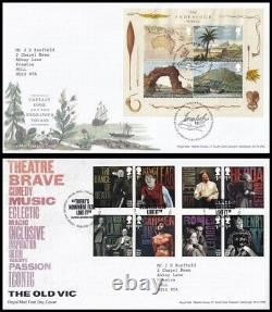 2018 GB Collection of 19 Typed Address Royal Mail FDC's All Tallents House