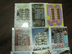 22 Different Stampex Generic Sheets Royal Mail In Album Mnh Stamps 2003 2013