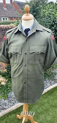 2nd King Edward VII's Own Gurkha Sirmoor Rifles Tropical Jacket Tunic post WW2