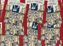900 x 1st Class ROYAL MAIL Stamps Cheap Discounted Postage Stamps VE Day Theme