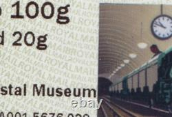 ALL 4 Underground railway 2020 Tariff POST & GO Strips POSTAL MUSEUM + MAIL RAIL