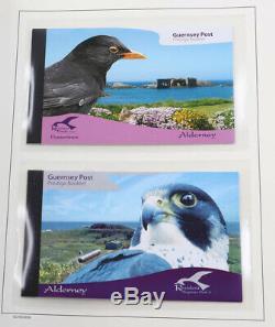 Alderney 1983 bis 2008 wunderschöne postfrische Sammlung + Kleinbogen und MH