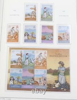 Alderney 1983 bis 2014 postfrisch komplett + guter Teil Markenheftchen