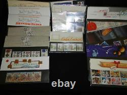 Approx 188 GB Stamps Royal Mail presentation Packs