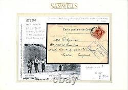 BRITISH FORCES CRETE Camp Post Office Candia Cachet Postcard 1906 M184