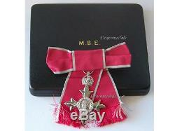 Britain Order British Empire Member Cross Medal MBE Decoration Ladies Post WW2