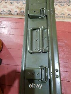 British Army Military Zarges Aluminium Medical Storage Case Box FREE UK POST