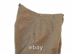 British Army Other Ranks Trousers. Post 1921/ Pre 1939 Pattern