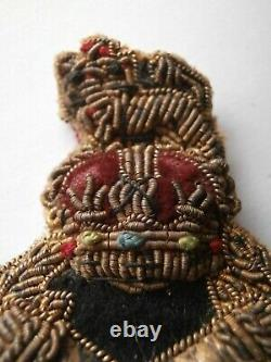 British Cap Badge For A Field Marshal Ww2 Post War Crown