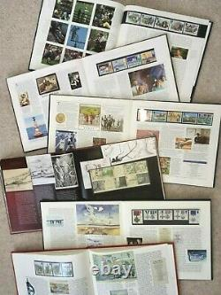 COMPLETE SET of 22 GB Royal Mail Year Books from 1984 to 2005 (books 1-22)