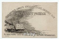 Charles Gilpin Ocean penny post Caricature / To Make Home Everywhere and all