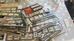 Collection of gb royal mail presentation packs 124 plus 2 pay and go packs