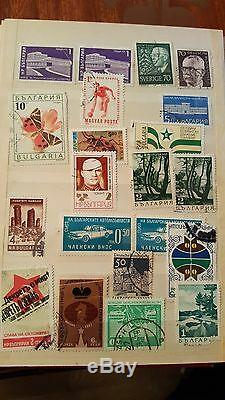 Collection post marks, stamps