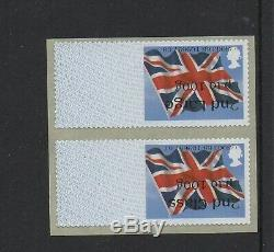 ERROR UNION FLAG Ma13 2nd/2nd LARGE COLLECTOR SET INVERTED PRINTING Post GO