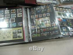 FULL COLLECTION 1967-2012 COLLECTORS YEAR PACK ROYAL MAIL stored in 3 ALBUMS