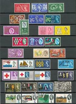 GB 1960-Mitte 2009 POSTFRISCHE SAMMLUNG NOMINALE über 1000 PFUND Q0541d