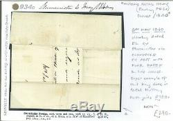 GB 6th MAY 1840 Cover CLEARLY DATED Blandford Penny Post (1d Black FDC) 934d