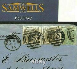 GB AFRICA MAIL SG. 150.147 Cover Birmingham PerCAPE PACKET PLYMOUTH COGH MS2980