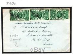 GB BOY SCOUT CAMP MAIL Wallis Cover 1935 Letcombe Bassett Berks samwellsT40b