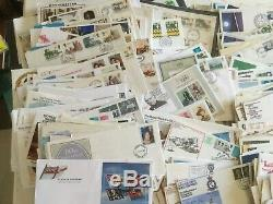 GB FDCs 1250+ UK ROYAL MAIL FIRST DAY COVERS, F. D. C. And letters REDUCED
