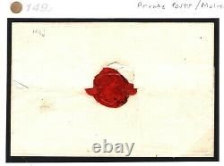 GB MULREADY Caricature Cover 1840 NEW POST OFFICE ENVELOPE Letter-sheet 149j