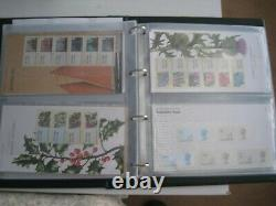 GB Royal Mail Post & Go Packs 1-30 In Album (Mint)