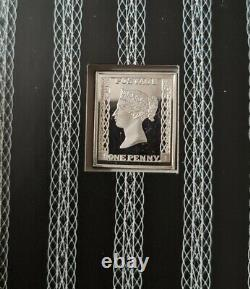 GB Royal Mail Queen Victoria Silver 925 Ingots Set 6 In Very Good Condition