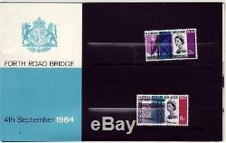 GB Royal Mail Stamps Opening of the Forth Road Bridge 1964 Presentation Pack PP4