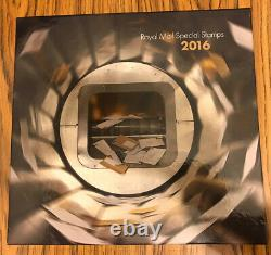 GB Royal Mail Year Book Special Stamps 2016 Complete With Mint Stamps