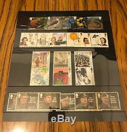GB Royal Mail Year Book Special Stamps 2018 Complete Mint Stamps & Minisheets