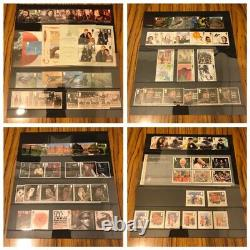 GB Royal Mail Year Book Special Stamps 2018 Complete With Stamps -Case Imperfect