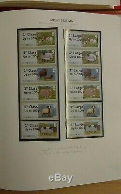 GB Specialised Error Variety Post & Go Collection Face Value £1048+ In Albums
