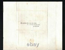 GB UNIFORM 4d POST 1840 Turned Cover U4PP Life Assurance MEDICAL London MS3848